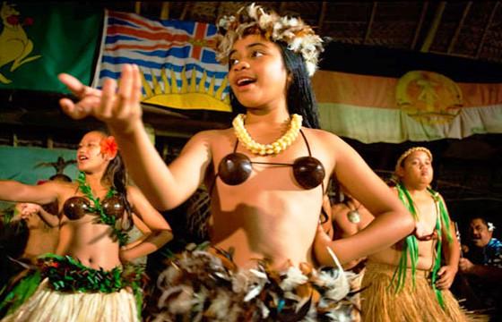 Cultura polinesia. Islas Cook.