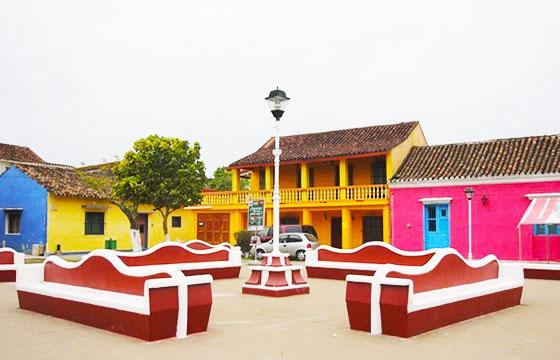 Los 10 pueblos m s coloridos de m xico el viajero fisg n - Fachadas casas de pueblo ...