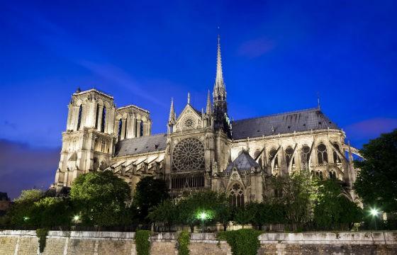 Vista de la mágica ciudad Notredame