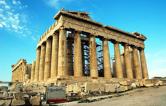 Vista de La Acrópolis Atenas Grecia