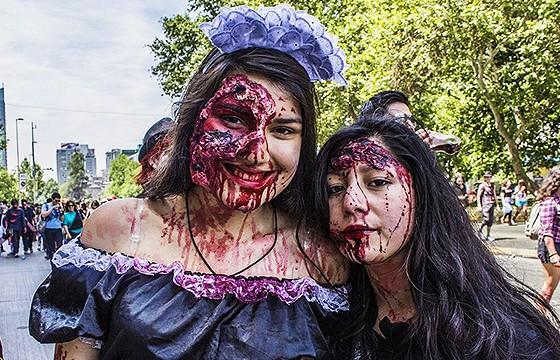 Evento zombie FENAPO 2015.