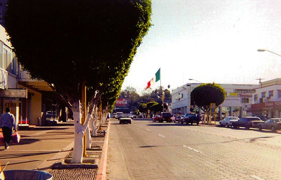 Vista de la Avenida Revolución en Tijuana Baja California