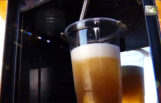 Expendedora de cerveza. Máquinas expendedoras más extrañas del mundo.