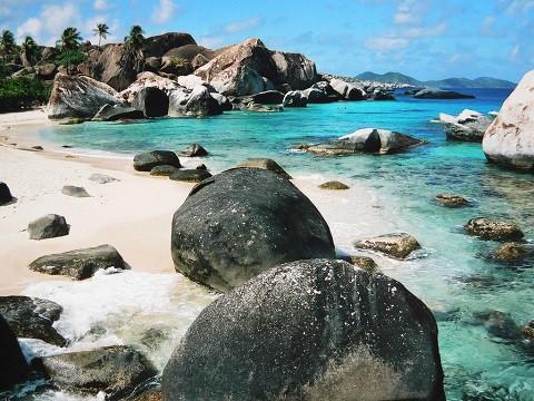 Isla Virgen Gorda en el Caribe