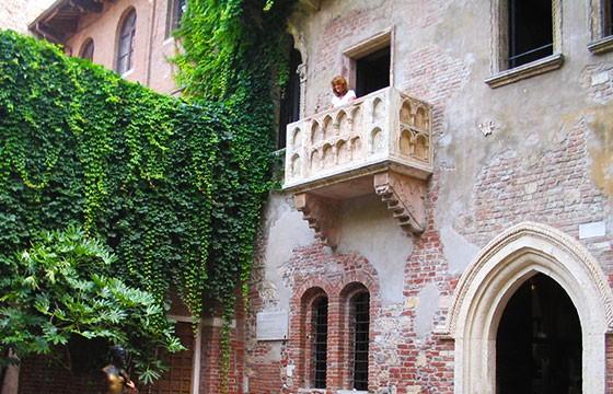 Muros de la Casa de Julieta, Italia. Lugares que dan suerte.