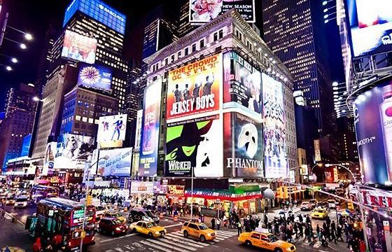 Nueva York, Estados Unidos. Dime tu edad y te diré donde viajar.