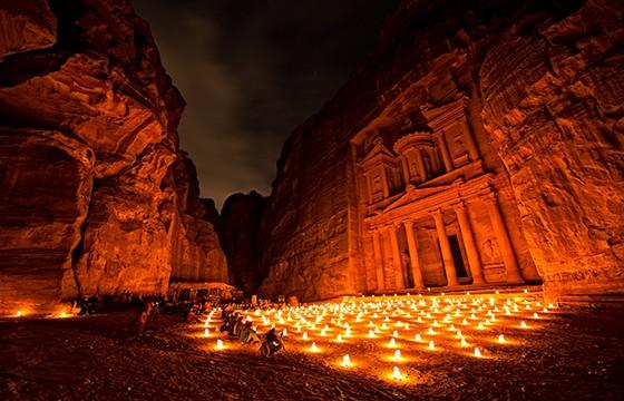 Petra, Jordania. 12 destinos que no cumplen con las expectativas.