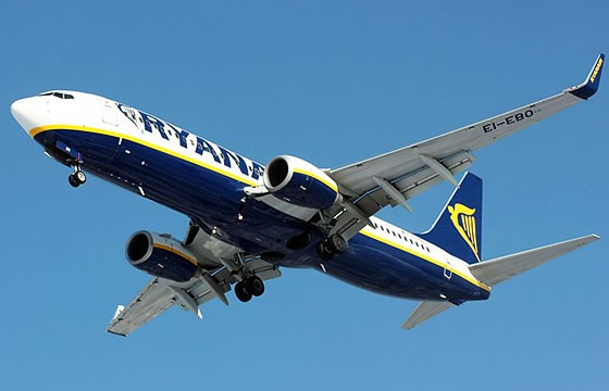 Ryanair. Las aerolíneas más baratas del mundo.