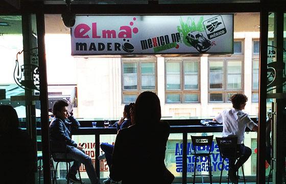 Bar Elma Madero. Nombres raros de bares.