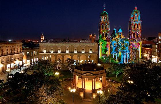 Vista del Centro de San Luis Potosí
