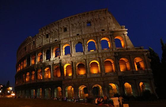 Vista de Roma