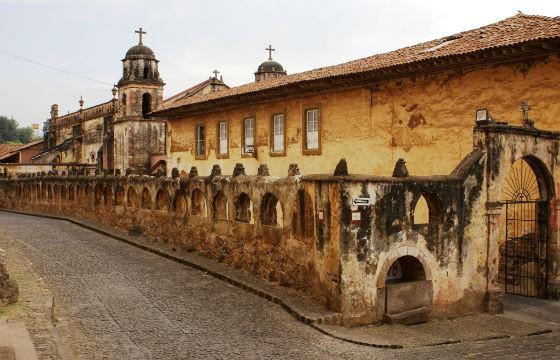 Vista del Centro Histórico de Pátzcuaro