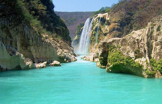 Vista de la impresionante región Huasteca Potosina