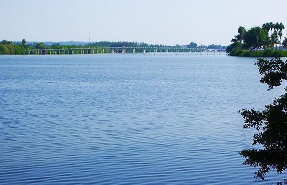 Vista de la gran Laguna deCarpintero