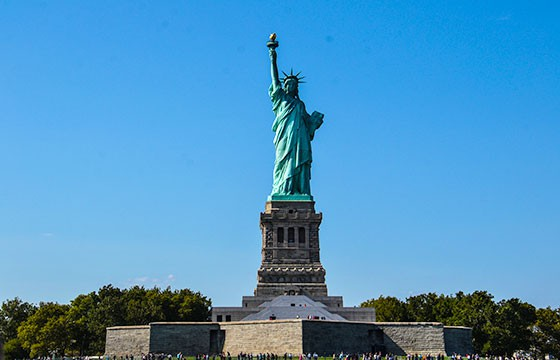 Vista de la Estatua de la Libertad Estados Unidos