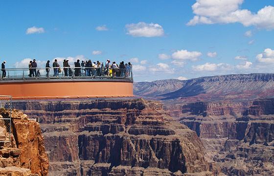 Vista desde el mirador Gran Cañón Arizona