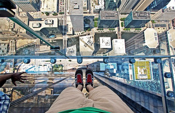 Vista desde el mirador Torre Sears Chicago