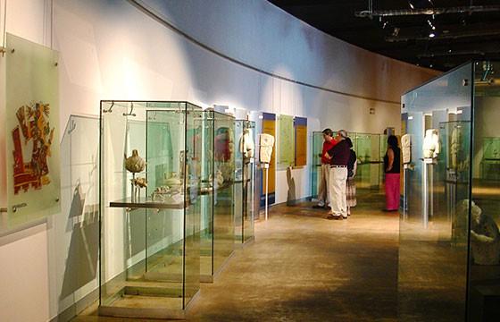 Vista del Museo de la Cultura Huasteca