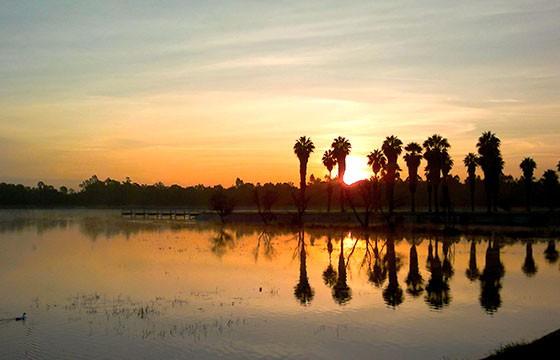 Vista del parque tangamanga San Luis