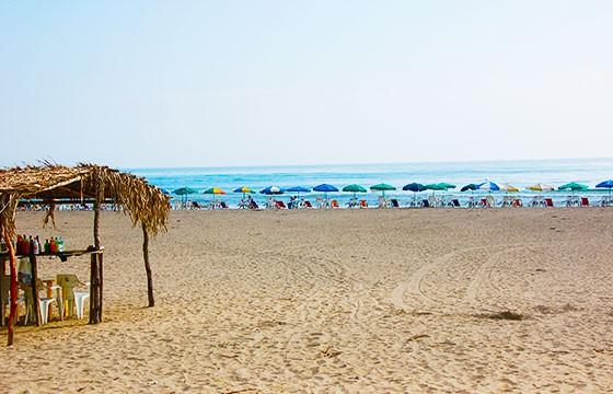 Vista de la Playa de Tecolutla Veracruz