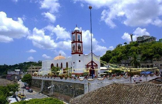 Vista del centro de Poza Rica