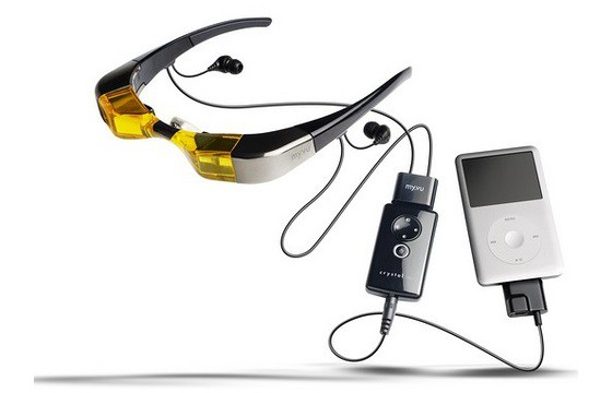 Gafas para vídeo.