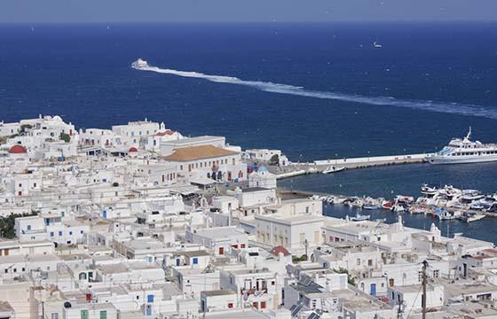 Mykonos, Grecia.