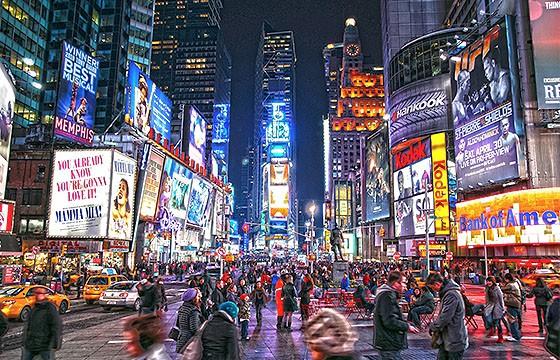 Nueva York, E. U. Destinos que visitar para ser más feliz.