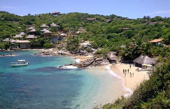 Playa La Boquilla.