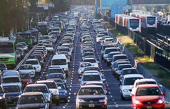 Tráfico de la ciudad de México