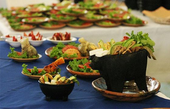 Muestra gastronómica