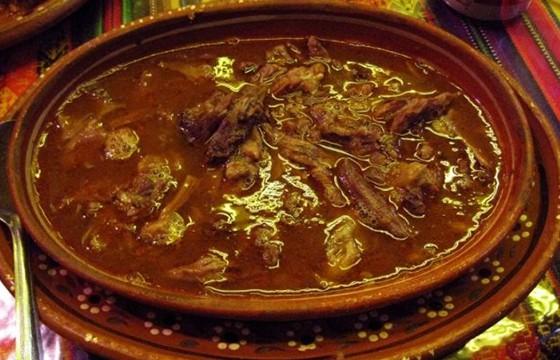 Gastrónomia en la feria de Zacatecas
