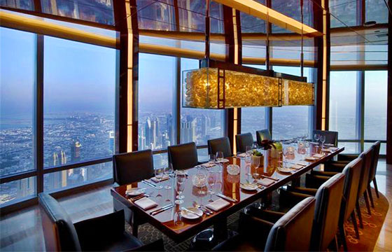 Restaurant más alto del mundo