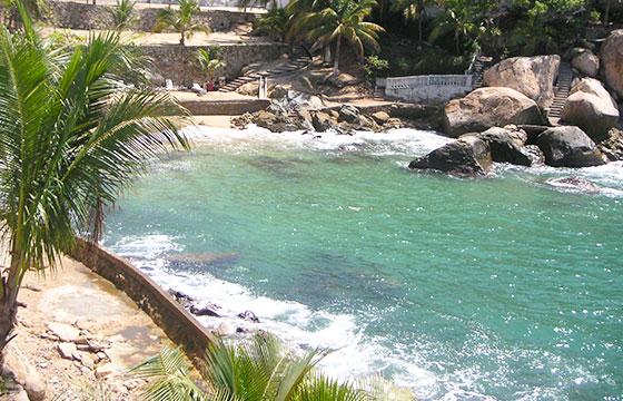 Playa El Secreto, Acapulco, Guerrero El Secreto Beach, Acapulco, Guerrero-Editada-Comisión Mexicana de Filmaciones-http://bit.ly/1QLylyk-Flicker