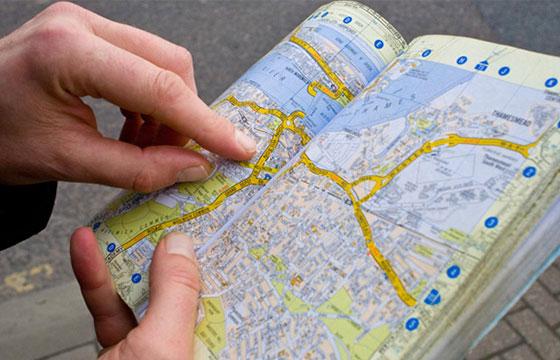 guia mapa
