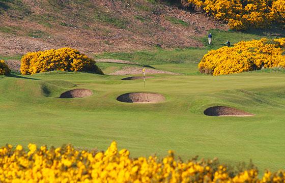 5th hole, Royal Dornoch Golf Club-John Haslam-Flickr
