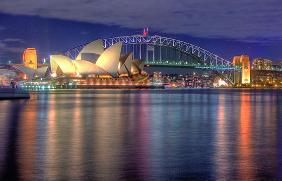 Sydney Opera house HDR Sydney Australia-Hai Linh Truong-Flickr