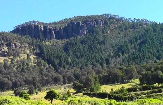Cerro de la catedral otomí