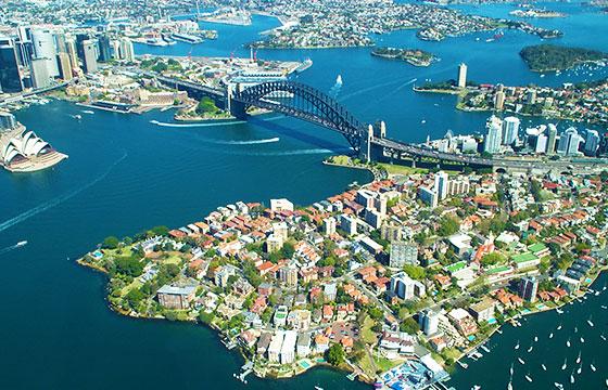 Vista general de Sydney