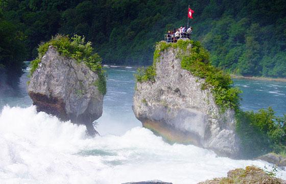 Cataratas del Rhin, Schaffhausen. Suiza-Editada-Pirineísta-http://bit.ly/1SMFY4m-Flickr