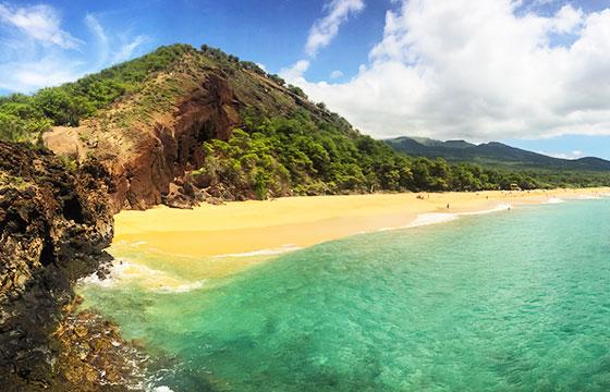 Hawaii Maui Makena Big Beach-dronepicr-Flickr