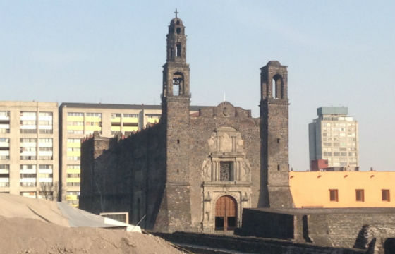 Iglesia de Santiago Apóstol en Tlatelolco