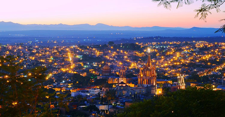 San Miguel de Allende at Sunset-Justin Vidamo-Flickr