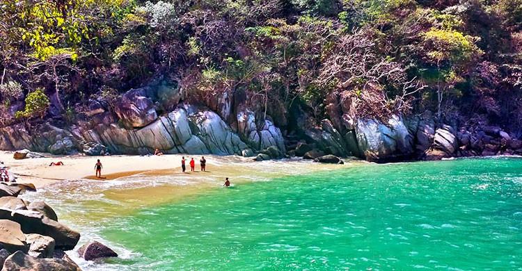 Playa Colomitos en Jalisco