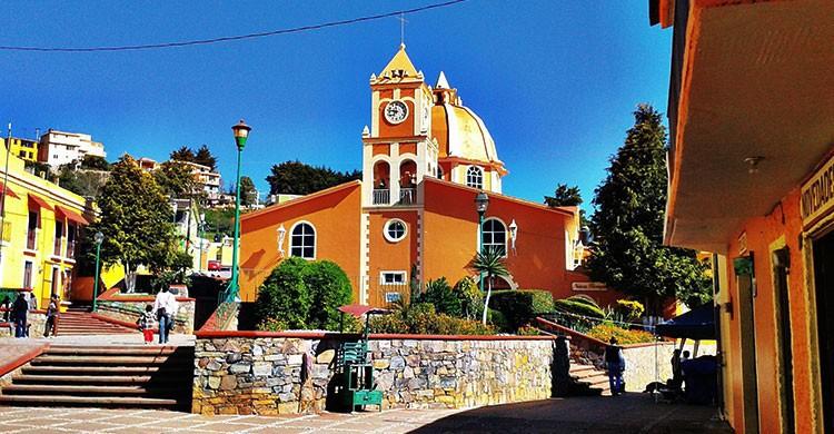 Parroquia de San Joaquín,San Joaquín,Querétaro,México