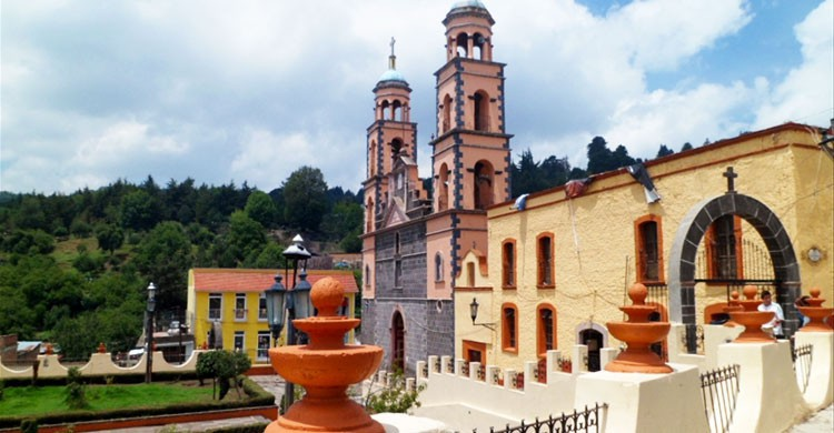 Parroquia Santa Maria de Guadalupe,El Oro,Estado de México