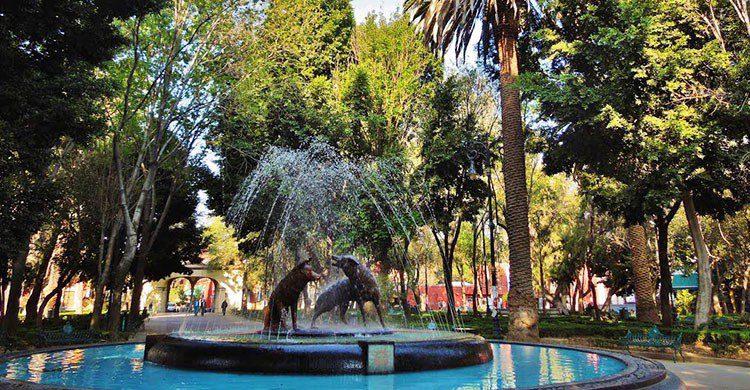 Jardín Centenario o Jardín Hidalgo
