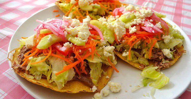 Mexican tostadas-David Boté Estrada-Flickr