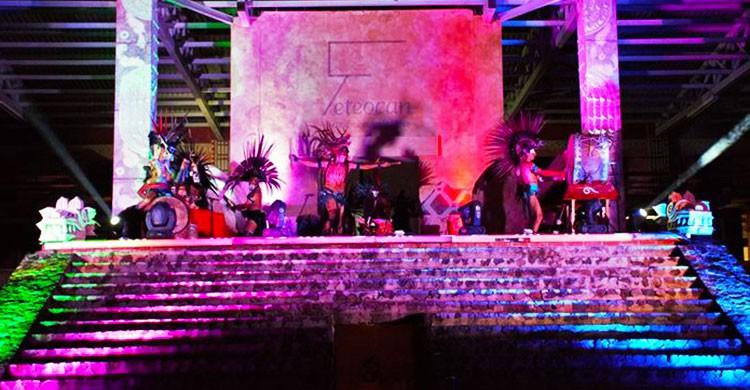 Represnetación de Juego de Pelota prehispánico